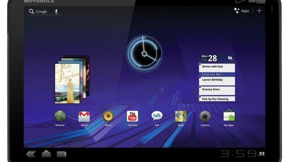 CES 2011   Motorola Xoom hace presencia con el esperado Android Honeycomb