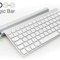 Magic Bar cargará tu teclado inalámbrico de Apple y el Magic Trackpad de manera inductiva