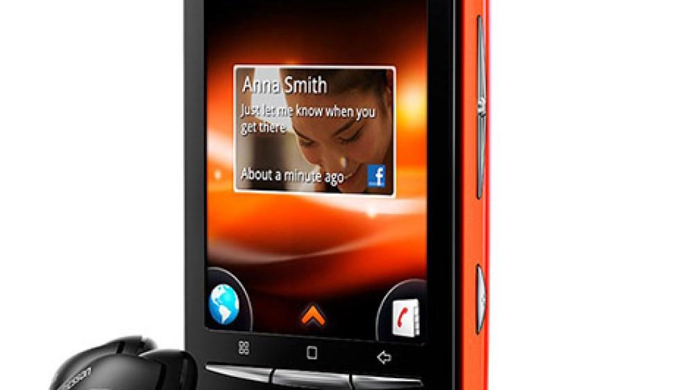 Nace el primer Walkman con Android… 2.1