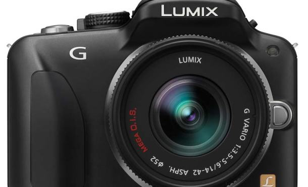 Lumix G3 frontal