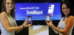 Se han vendido 3 millones de Samsung Galaxy S II en 55 días