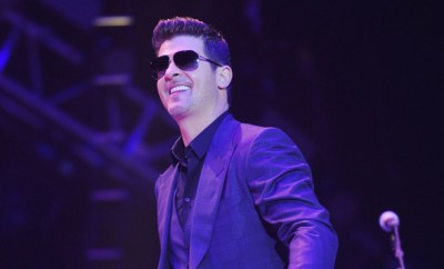 Thicke In Paris
