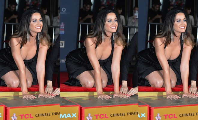 katy perry boobs fall out