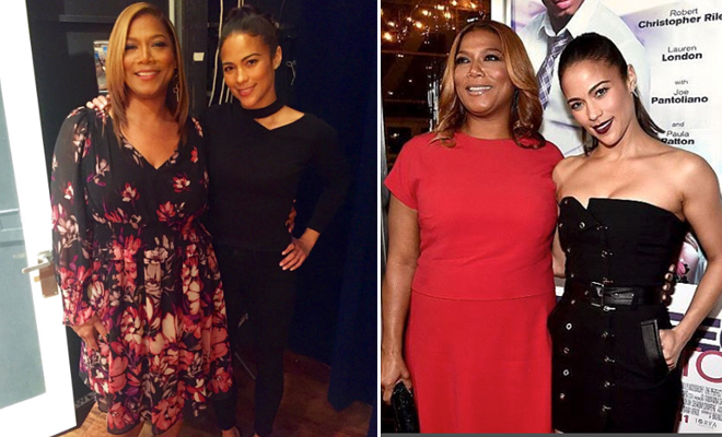 Jeanette Jenkins Queen Latifah Kissing Images & Pictures - Becuo