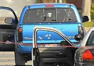 LAPD shoots Blue Truck