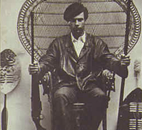 Huey P Newton chair