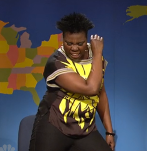 Leslie Jones of SNL