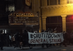 Oakland Protests