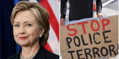 Hillary Clinton Has a Counter terrorism Plan-How Will she fight Police Terror?