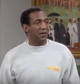 Bill Cosby and Dr Heathcliff Huxtable were seen as one and the same in the minds of many
