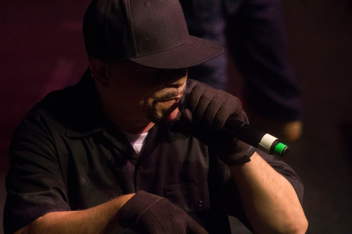 10 Cool Photos of Ice T at the Art of Rap Show