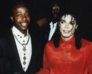 MC Hammer and Michael jackson