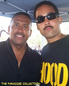 Radio host Michael Baisden and Jasiri X