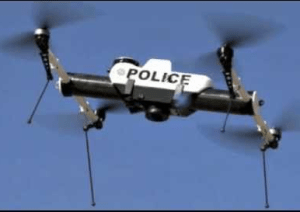 Drones police