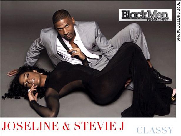 joseline hernandez and stevie j black men magazine