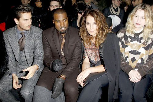 Kanye-West-and-Scott-Disick-Attend-the-Mens-Fall-2013-Givenchy-Fashion-Show-in-Paris