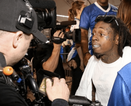 lil wayne camera man fight