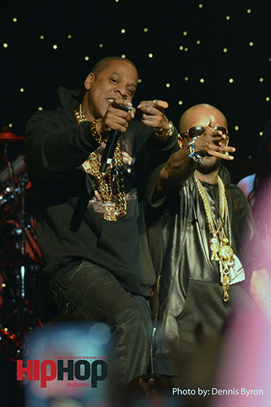 Jay Z and Jermaine Dupri