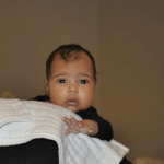Isn't She Beautiful! Kanye West Reveals Baby North West to the World