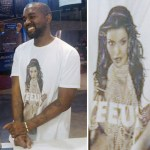 New Fashion Alert: Kanye West Yeezus Tour T-Shirt Featuring Kim Kardashian