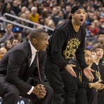 "Drake Hosts ""Drake Night"" at Raptors Game"