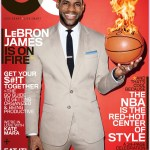 New Fashion Alert: Lebron James Covers GQ
