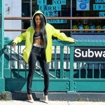 [New Fashion Alert] Teyana Taylor Flaunts Her Street Style For Elle Magazine