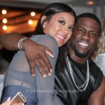 New Photo Alert: Kevin Hart And Eniko Parrish Party At The Cultured Pearl In Phoenix, AZ During Superbowl weekend