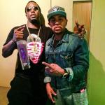 Diddy, Chris Brown, Floyd Mayweather & More Turn Up With Jimi Hendrix's Purple Haze Liqueur [Photos]