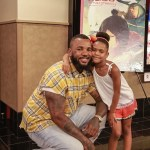 "The Game and Daughter Cali Host Movie Screening of ""Kubo and the Twin String"" (Watch Now)"