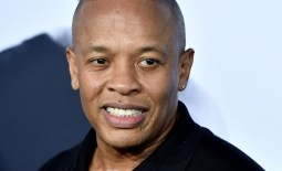"""LOS ANGELES, CA - AUGUST 10:  Rapper Dr. Dre arrives at the premiere of Universal Pictures and Legendary Pictures' """"Straight Outta Compton"""" at the Microsoft Theatre on August 10, 2015 in Los Angeles, California.  (Photo by Kevin Winter/Getty Images)"""