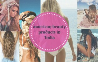 american beauty products in india