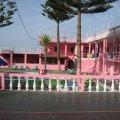 pink palace, corfu, hostel, party hostel, travel, backpacking, greece