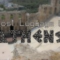 lost luggage in athens