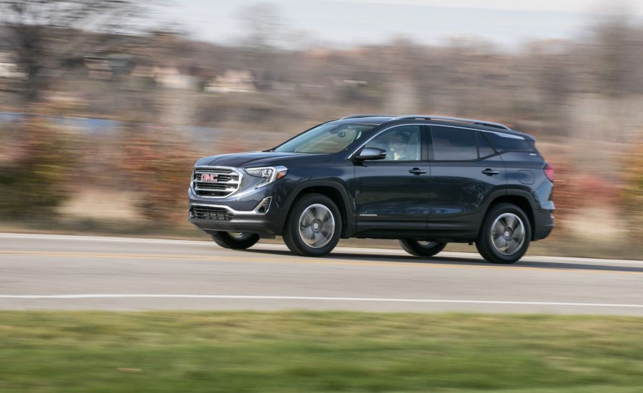GMC Terrain Reviews   GMC Terrain Price  Photos  and Specs   Car and     GMC Terrain Reviews   GMC Terrain Price  Photos  and Specs   Car and Driver