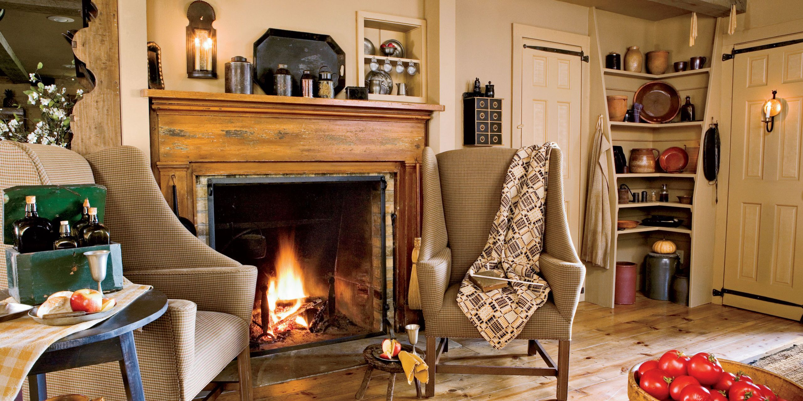 40  Fireplace Design Ideas   Fireplace Mantel Decorating Ideas Stone  slate  wood  and more  Get inspired to re do your living room with  our favorite fireplace designs and mantel ideas