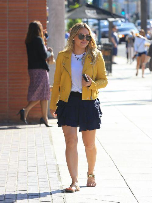 Medium Of Hilary Duff Legs