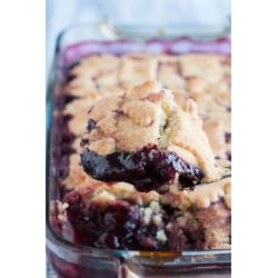 Small Crop Of Easy Cherry Cobbler