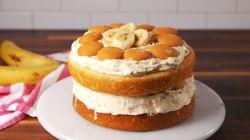 Small Of Banana Cream Cake