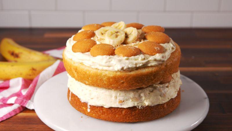 Large Of Banana Cream Cake