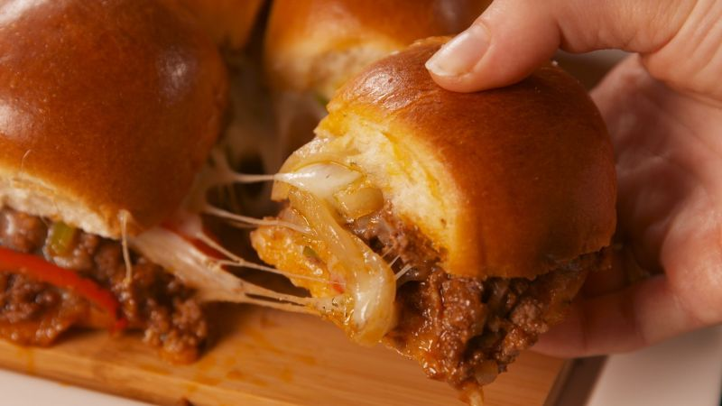 Large Of Philly Cheese Steak Sloppy Joes