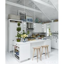 Small Crop Of Gray And White Kitchen Decor