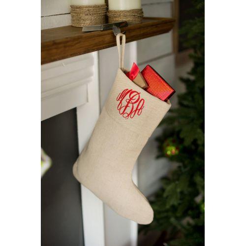 Medium Crop Of Monogrammed Christmas Stockings