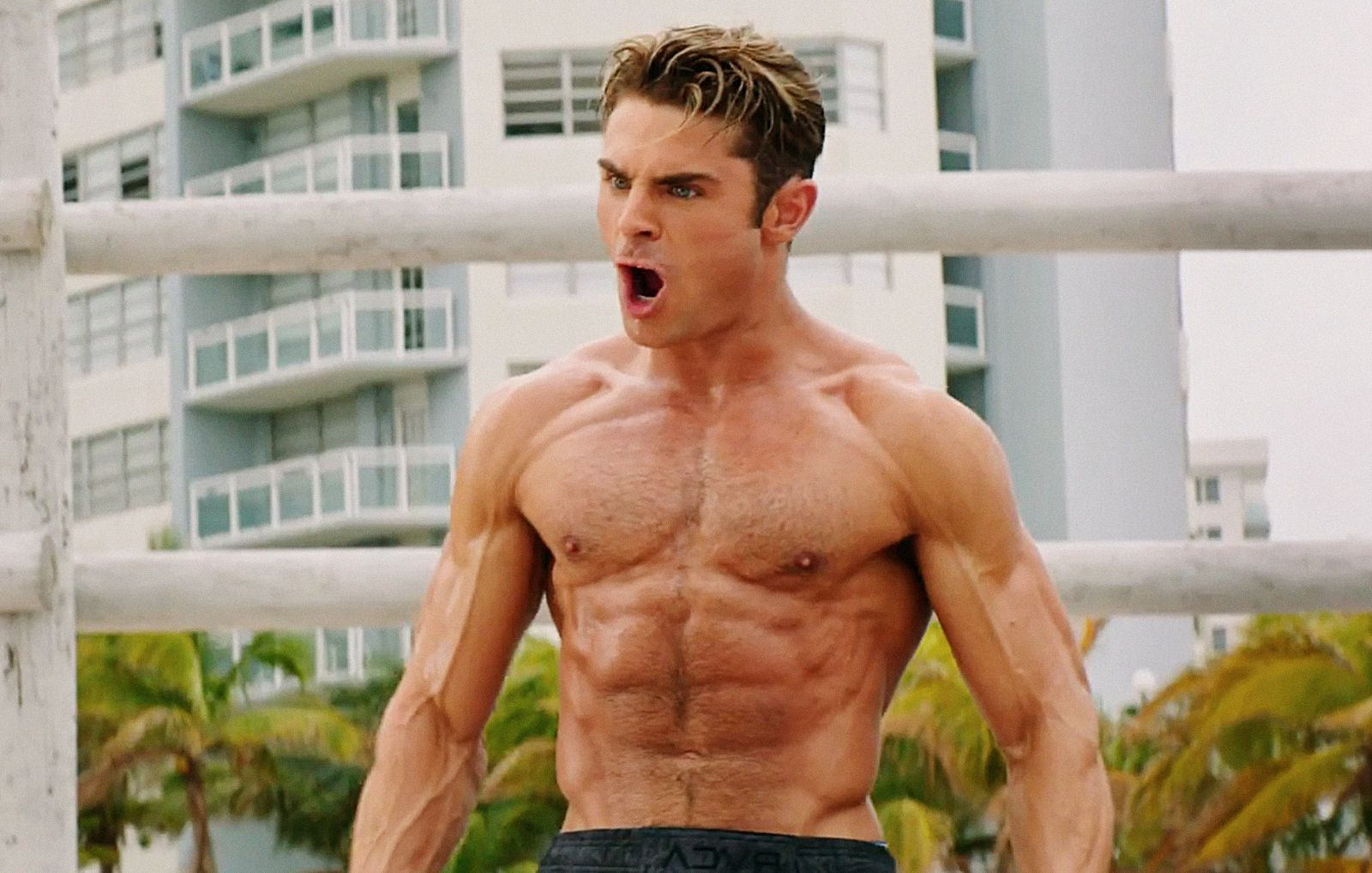 Zac Efron Listens to This Music When He Works Out  Here s Why You     zac efron workout music