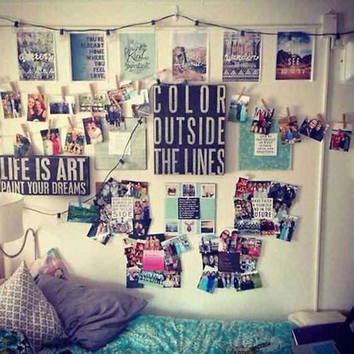 Medium Of Stylish Dorm Room