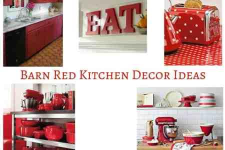barn red kitchen decor ideas fb