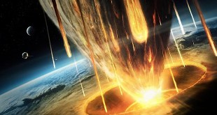 BFPXFC A giant asteroid collides with the earth.