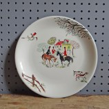 Alfred Meakin Tally-Ho plate