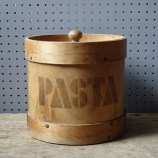 Vintage bentwood pasta storage container | H is for Home