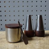 Vintage Danish cruet set | H is for Home